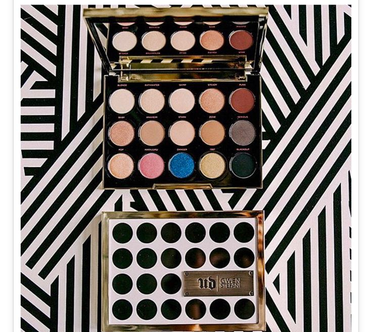 The new Urban Decay Gwen Stefani palette! Must have!!