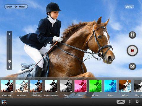 Video Zoom Pro, aplicación para la captura de video hoy gratuita en la App Store - iPad Books