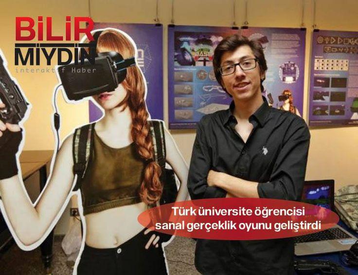 Türk üniversite öğrencisi sanal gerçeklik oyunu geliştirdi - http://bilirmiydin.com/turk-universite-ogrencisi-sanal-gerceklik-oyunu-gelistirdi/