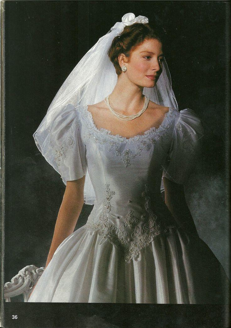 1980s Wedding Dresses Vintage Alfred Angelo Boy Room