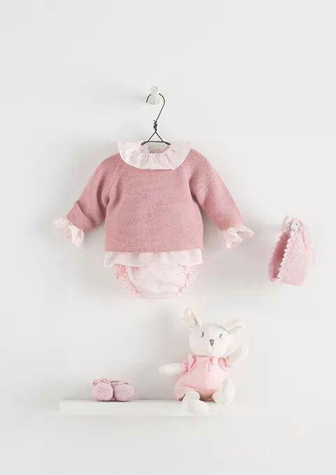 Mode Bébé // Une tenue rose pour une petite fille // Nanos ♥