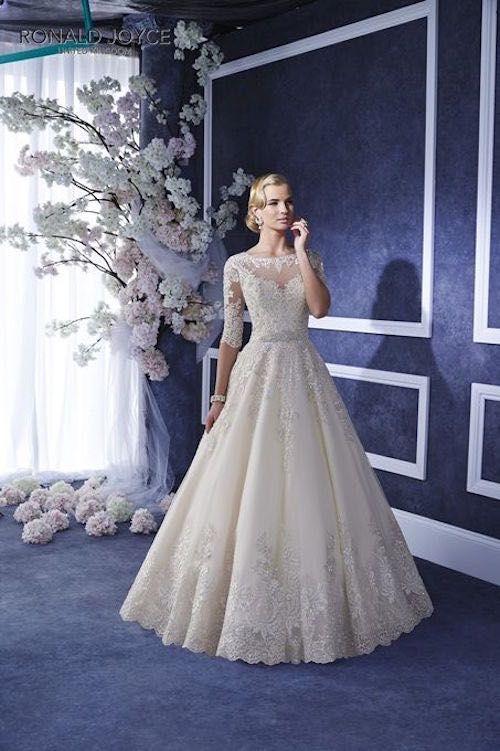 Wedding Dress: Ronald Joyce