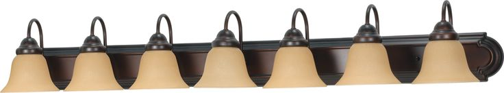 "48"" Vanity Lighting Fixture in Mahogany Bronze Finish"
