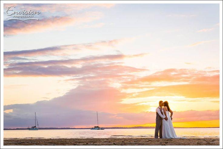 Sunset Beach on Fraser Island by Envision Photography #kingfisherbay #fraserisland #destinationwedding #fraserislandwedding #fraserwedding http://www.fraserislandweddings.com.au/ #AccorAustralia #Mercure