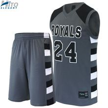 Basketball Uniform Set, Hito Elegant High Quality Custom Sportswear HE-BB-1021