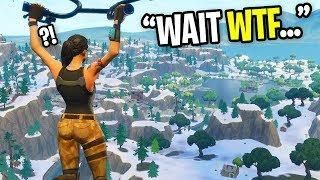 Hacker Changed The Map Into Snow On Fortnite Wtf Is Happening