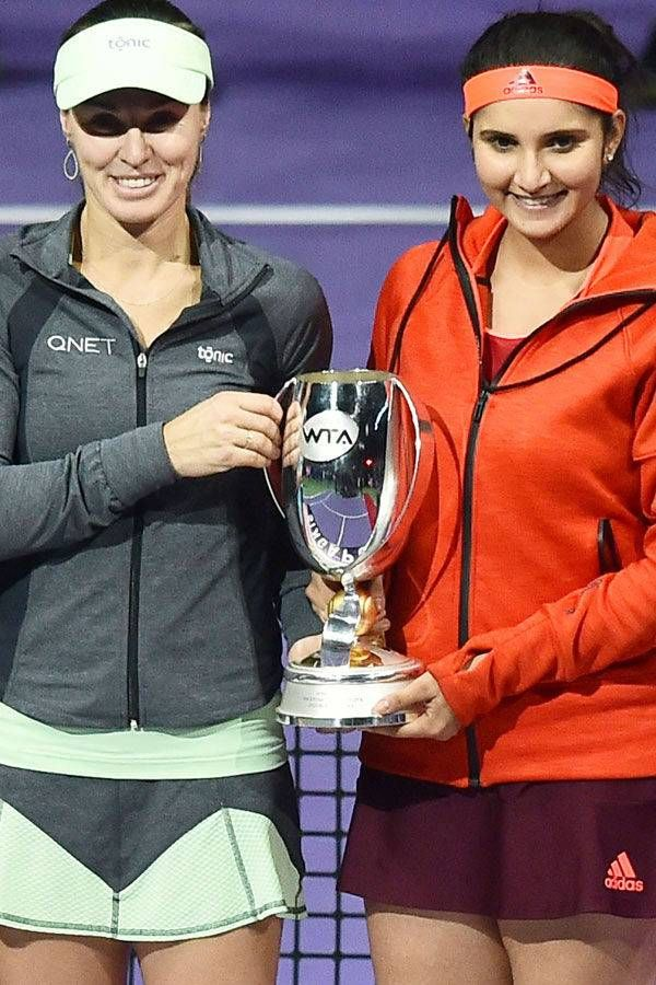 Sania-Martina clinch WTA Finals crown- The Times of India Photogallery