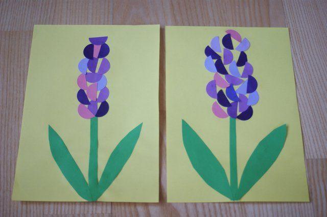 P Do Naszego Wiosennego Zestawu Kwiatow Dolaczamy Strong Hiacynta Strong Ten Piekny Kwiat Mozna Zrobic Na Wiele Sposob Art For Kids Crafts For Kids Crafts