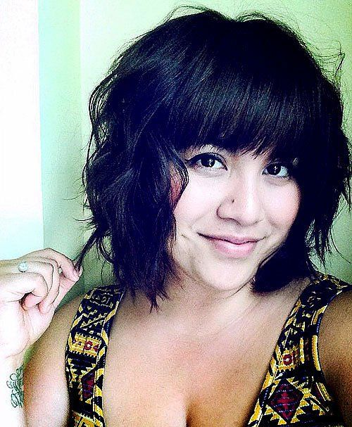 30 Stylish And Sassy Bobs For Round Faces Straight Bangs