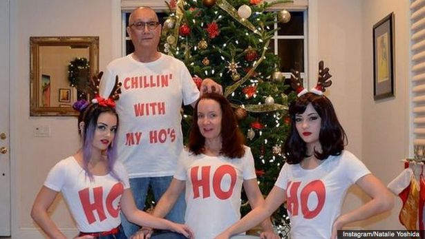 The most awkward christmas cards on the web