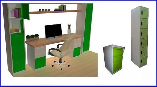 Estanterias y muebles metalicos medellin muebles de oficina