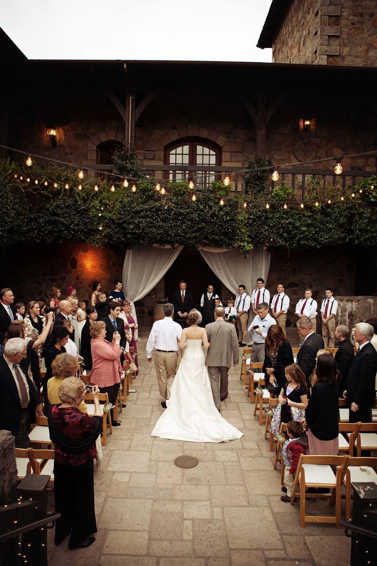 V. Sattui Winery - Winery ... I REALLY want to photograph a wedding here!  St Helena, CA