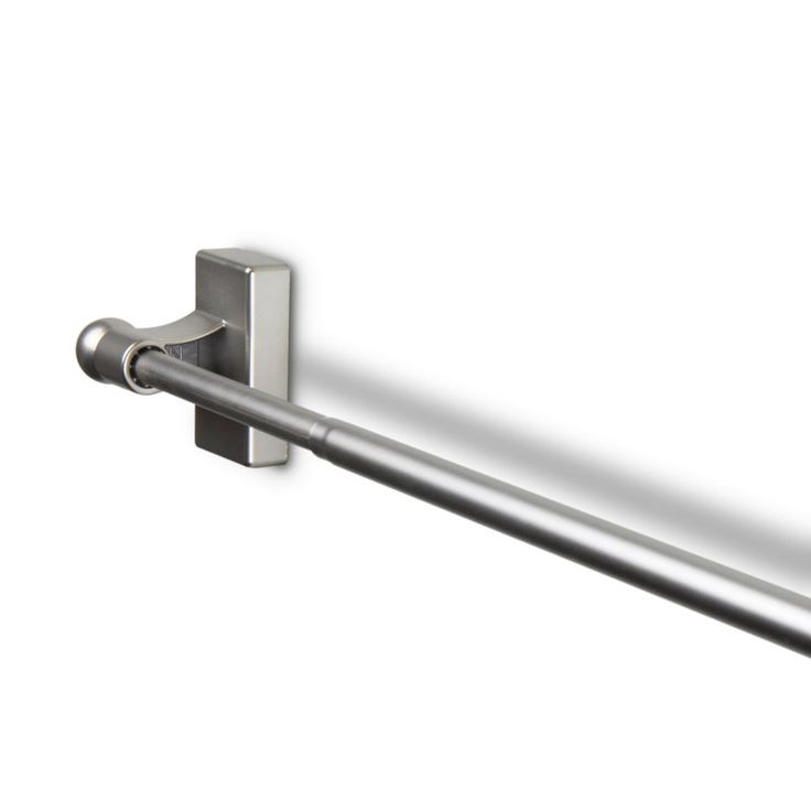 25 best ideas about magnetic curtain rods on pinterest for Door curtain pole