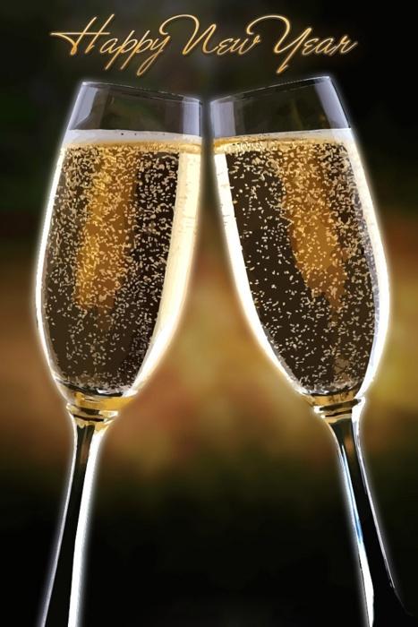 Gracias Señor por tantas bendiciones , para mi y mis hijas. Fue un año de muchas sorpresas , alegrias y cosas buenas !!!!!!!!!!   Un brindis para todos mis queridos amigos que Dios los bendiga grandemente y que este año sea de muchas satisfacciones hermosas Feliz año nuevo!!!/Happy new year!!!