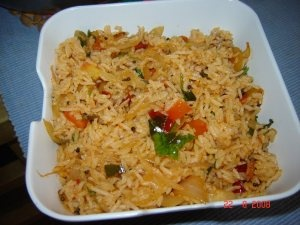 Quick Fried Rice | desi love | Pinterest