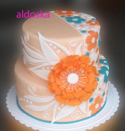 DORTY A SLADKOSTI aneb PEČEME S LÁSKOU - Fotoalbum - -MOJE PEČENÍ- - MOJE DORTY - My cakes - Pro mou milou kamarádku Blanku