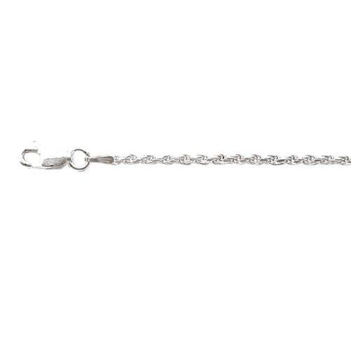 Sterling silver diamond cut rope bracelet 2mm, 8 inch Jewelryimpressions. $36.98. Fine Craftsmanship. Packaged in a Box. .925 Sterling Silver. Designer Style