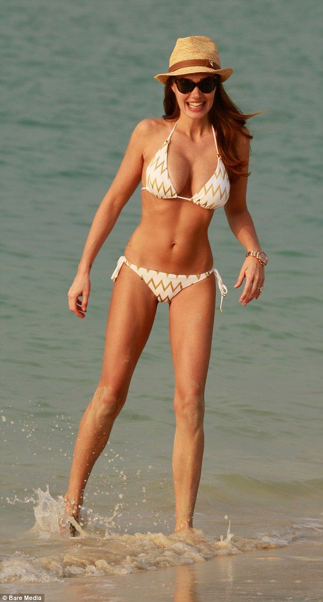 Tamara Ecclestone.. Melissa Odabash Key West Bikini Set, Melissa Odabash Eva Panama Hat, and the Row Fall 2012 Sunglasses..