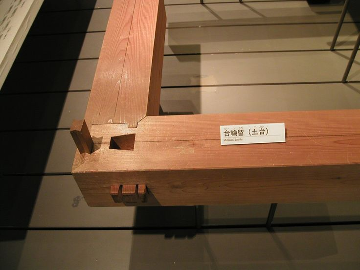Japanese woodworking joint.