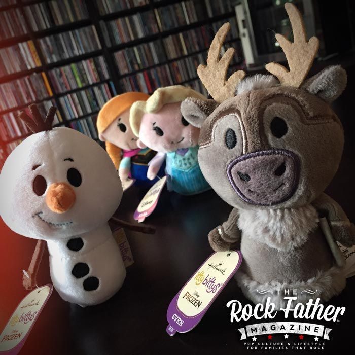 Olaf & Sven Become FROZEN itty bittys - Coming to Hallmark Gold Crown Stores...