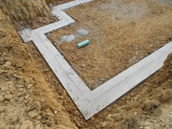 Ready Made Footings : The best concrete footings ideas on pinterest