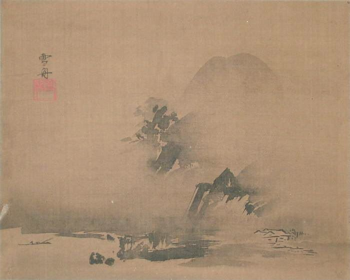 40 best images about Sesshu Toyo(1420 - 1506) on Pinterest ...