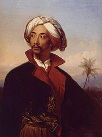 Raden Saleh Sjarif Boestaman (1807[1][2] atau 1811[3] - 23 April 1880) adalah pelukis Indonesia beretnis Jawa yang mempionirkan seni modern Indonesia (saat itu Hindia Belanda). Lukisannya merupakan perpaduan Romantisisme yang sedang populer di Eropa saat itu dengan elemen-elemen yang menunjukkan latar belakang Jawa sang pelukis