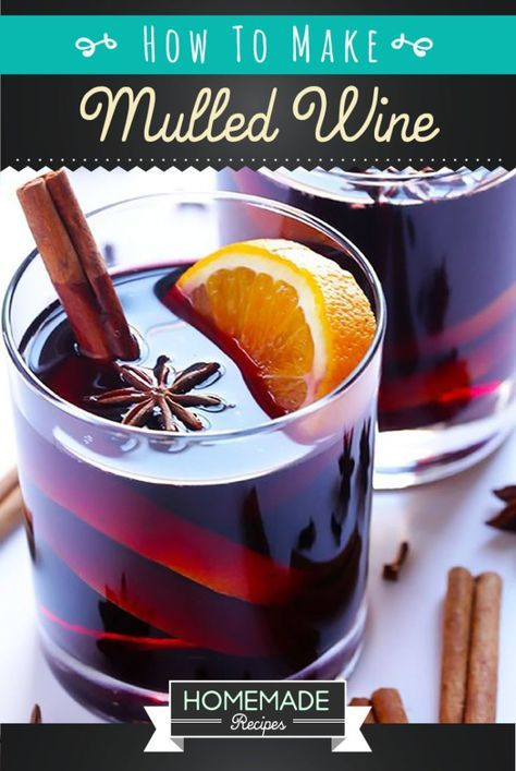This mulled wine recipe is simple to make, and perfect for the holidays! Get this mixed drink recipe to bring yuletide joy with mulled wine for party guests.