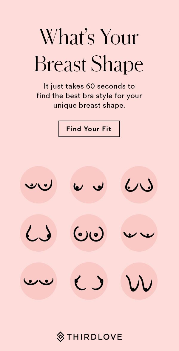 3f3122eff9 Did you know your bra should fit based on your breast size and shape  Find  your perfect fit in 60 seconds to receive your recommended bra size and  style.