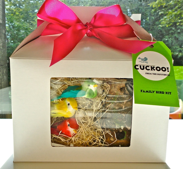Family Bird Kit by CuckooKits on Etsy, $20.00