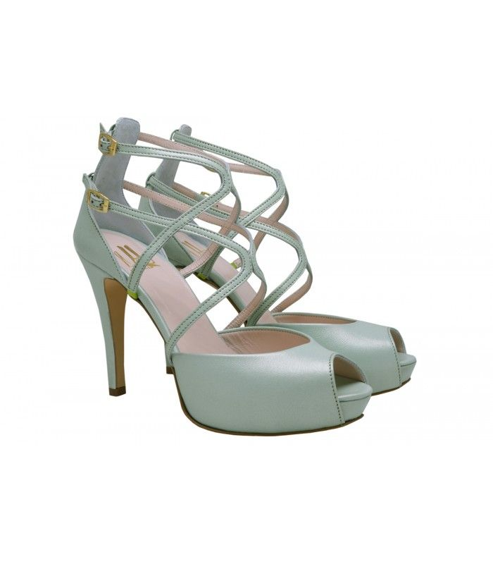 LEATHER BRIDAL-EVENING SANDALS DESIGNER LOU. Excellent choice for a very impressive appearance of the new collection of Lou company. AVAILABLE COLORS:GOLD IRIS ROSE IRIS GOLDNUDE YELLOW OFF WHITE
