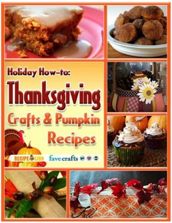 FREE e-Book: Thanksgiving Crafts and Pumpkin Recipes!