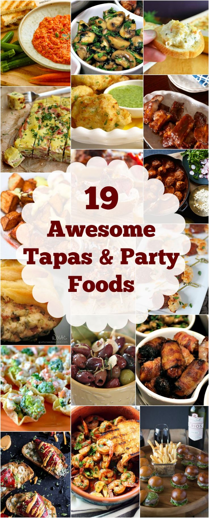 Easy tapas party recipes
