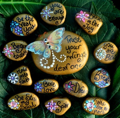 "Healing Expressions: Art Blessing Giveaway ""Soul Stones"""