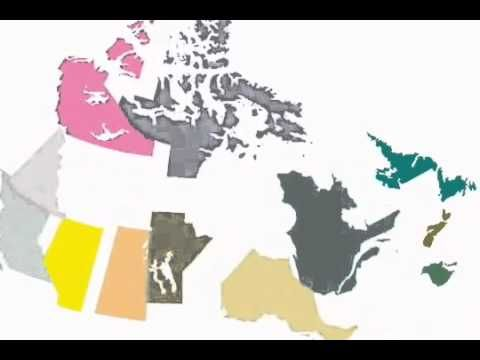 ▶ Canada's Provinces and Territorities - YouTube