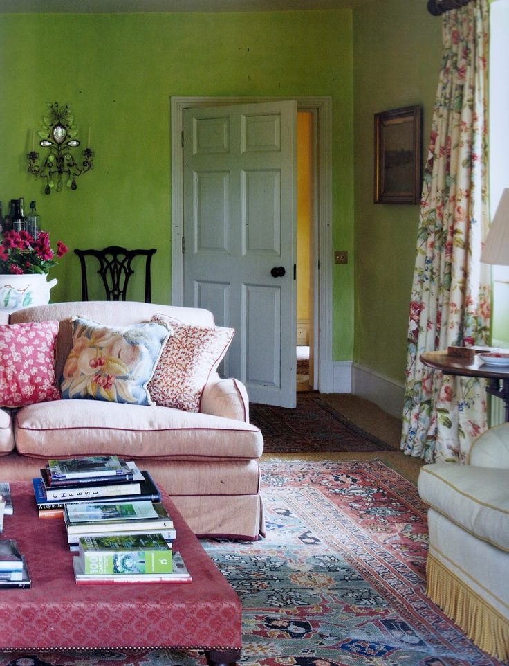 51 best living rooms family rooms images on pinterest for Perfect cottage