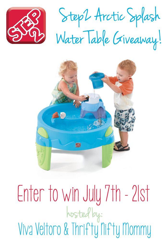 Step2 Arctic Splash Water Table #Giveaway!   Viva Veltoro