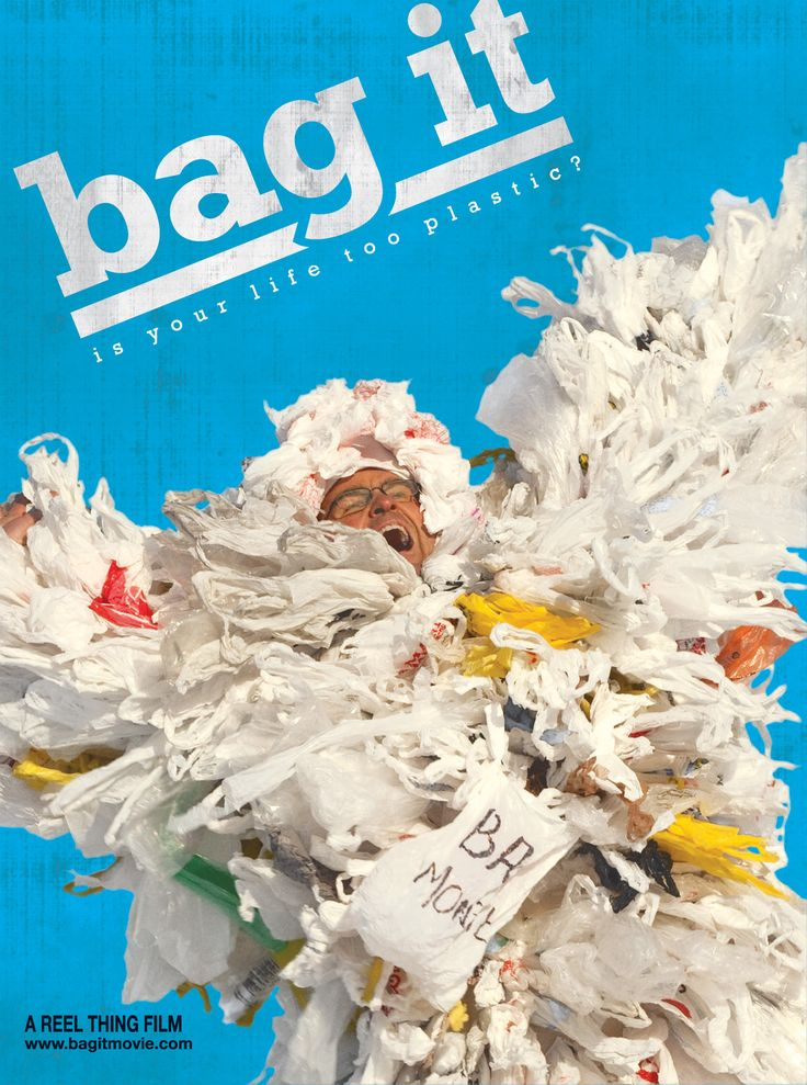 BAG IT - Fantastic film all about plastic! Please.. no more plastic bags or bottles!  We showed this one in May 2014 - was fantastic to hear so many people pledging to change their plastic habits.