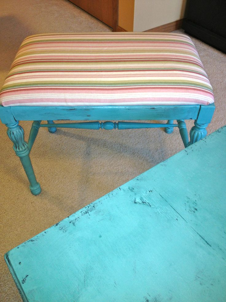 Antique Piano Bench - Destin Gulf Green https://www.facebook.com/pages/La-Parisienne-Vintage-Chic-Furniture/306391279488005