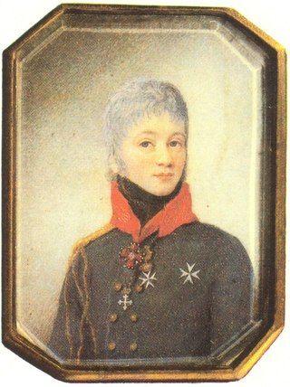 Граф Евграф Федотович Комаровский (1769 – 1843) – генерал-адъютант, . Женат на Елизавете Егоровне, урожд. Цуриковой (ок. 1787 – 1847).