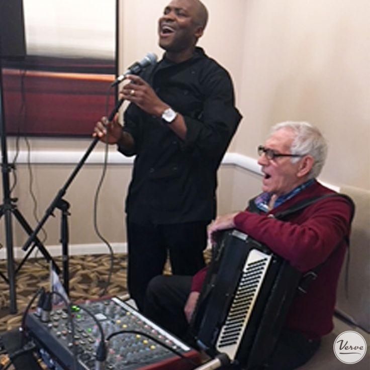Ivan Santilli performed for our Four Elms residents. 🎵 #verveseniorliving