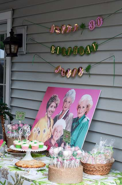 The Golden Girls Birthday Party Ideas   Photo 6 of 24