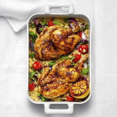 Ugnsrostad kyckling med couscous