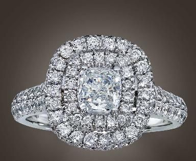 a ring that looks like a million dollars and is