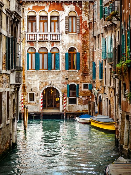 Venice canal -- love Italy.