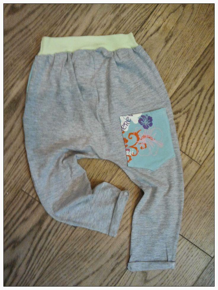 sewing kieds szycie dzieci pumpy jersey dzianina