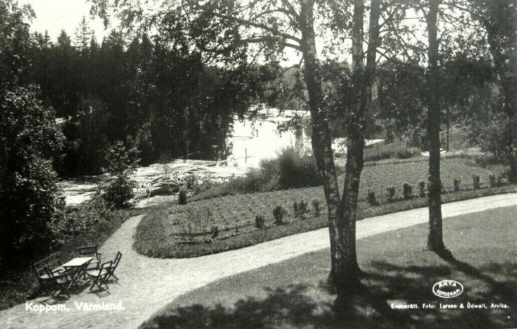 Värmland Eda kommun parti fr Koppom 1930-tallet Utg Larsen og Ødvall, Arvika