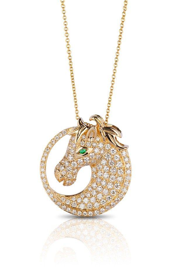 27 best effy images on pinterest charm bracelets fine jewelry and jardin 14k yellow gold diamond horse pendant 104 tcw necklaces pendants women aloadofball Choice Image