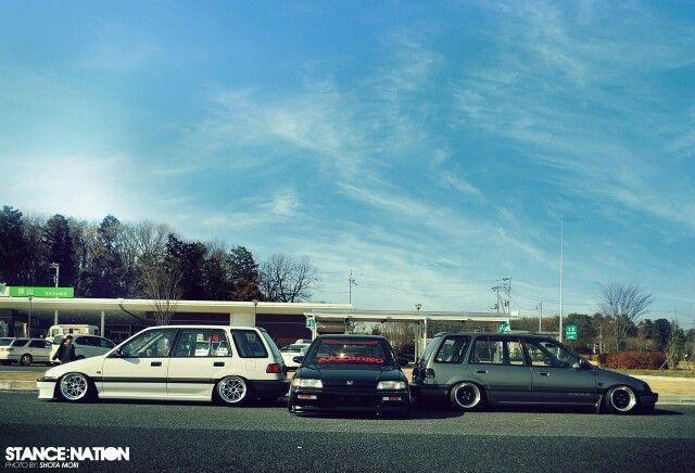 Civic Shuttle. #Honda