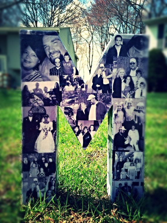 Mother's Day Photo Letter Custom Picture by BradyBunchCustom, $34.95